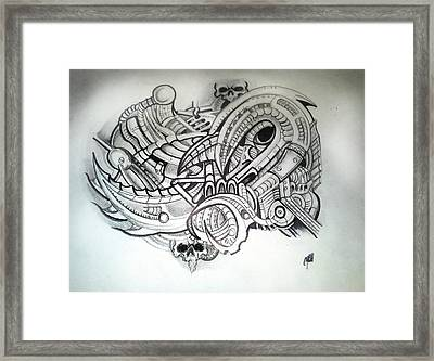 Untitled Framed Print by Chris Gill