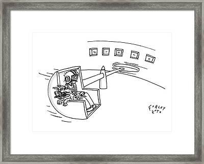 New Yorker August 4th, 2008 Framed Print