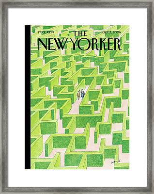 New Yorker October 2nd, 2006 Framed Print
