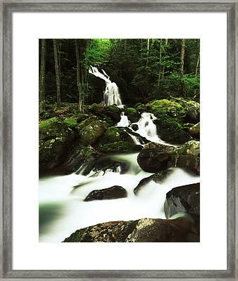 Usa, North Carolina, Great Smoky Framed Print