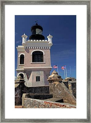 Usa, Puerto Rico, San Juan Framed Print by Kymri Wilt