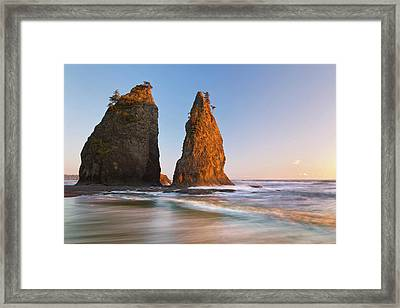 Usa, Washington, Olympic National Park Framed Print