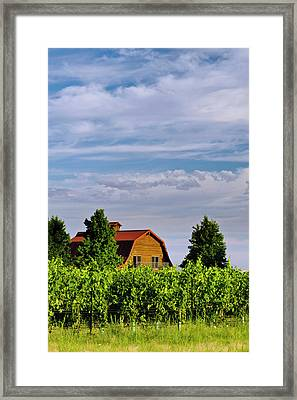 Usa, Washington, Walla Walla Framed Print by Richard Duval