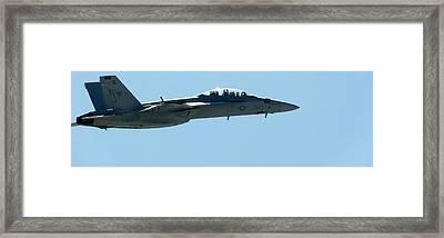 Usmc Fa18 Hornet Framed Print