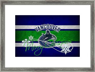 Vancouver Canucks Framed Print