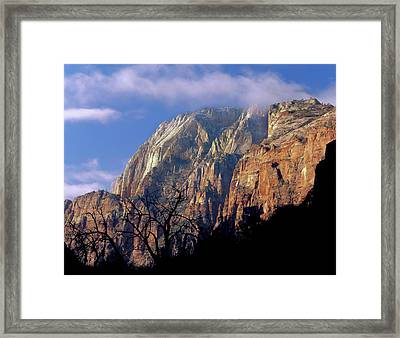 Zion National Park, Utah Framed Print