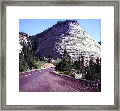 802 Checkerboard Mountain  Framed Print by Chris Berry