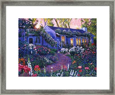 805 The Homecoming Framed Print by David Lloyd Glover