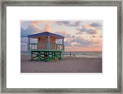 8095 Framed Print