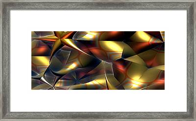 Abstract Framed Print by Bogdan Floridana Oana
