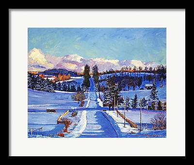 Canadian Scenery Framed Prints