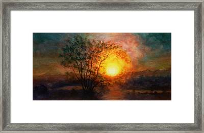 Earth Light Series Framed Print