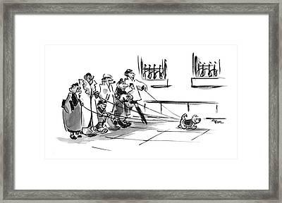 New Yorker December 20th, 2004 Framed Print