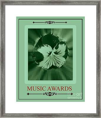 Music Awards Framed Print by Meiers Daniel