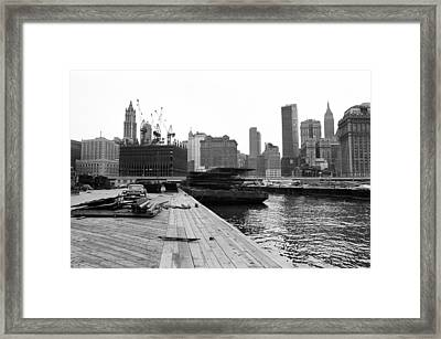 World Trade Center Framed Print