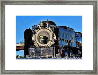 844 Locomotive Framed Print