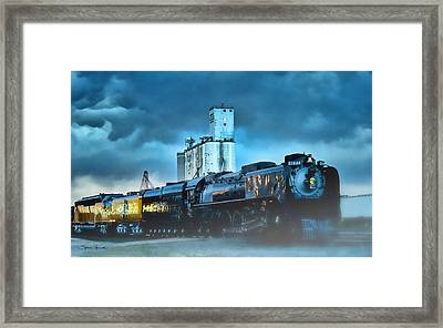 844 Night Train Framed Print