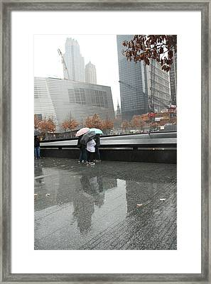 8455 Reflections Framed Print by Deidre Elzer-Lento