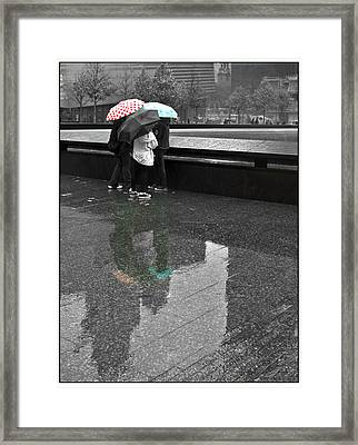 8455 Strong Reflections Framed Print by Deidre Elzer-Lento