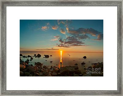 LE Framed Print