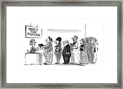 New Yorker November 8th, 2004 Framed Print by Lee Lorenz