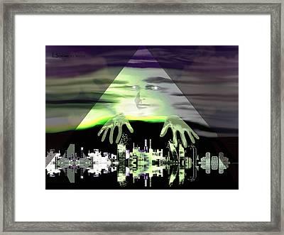 856 -    Global Player  Framed Print