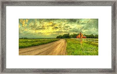 85mph Framed Print by  Caleb McGinn