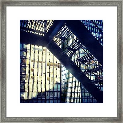 860-880 From The Fire Escape Framed Print