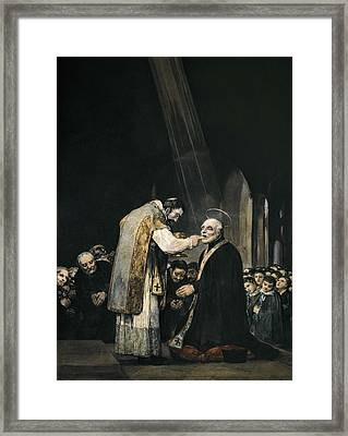 Goya Y Lucientes, Francisco De Framed Print