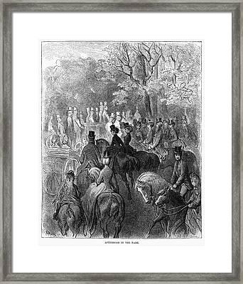 Dor� London, 1872 Framed Print