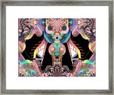 881 - The Great Insect Framed Print by Irmgard Schoendorf Welch