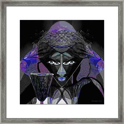 896 -  Darkness Framed Print
