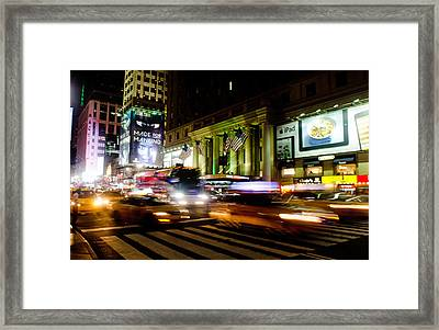 8th And 34th  Framed Print