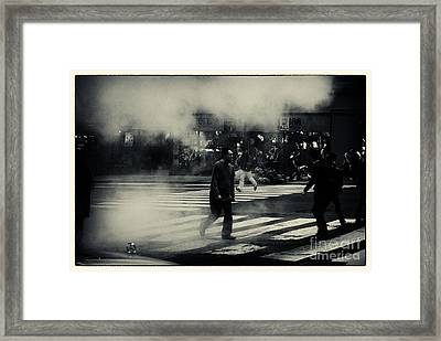 8th Avenue New York City Framed Print by Sabine Jacobs