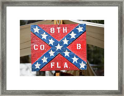 8th Florida Company B Headquarters Framed Print by David Lee Thompson