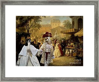 American Cocker Spaniel Art Canvas Print Framed Print