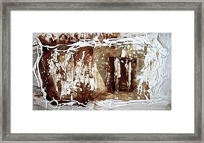 Anton Chekhov's Seagull Framed Print by Danica Radman