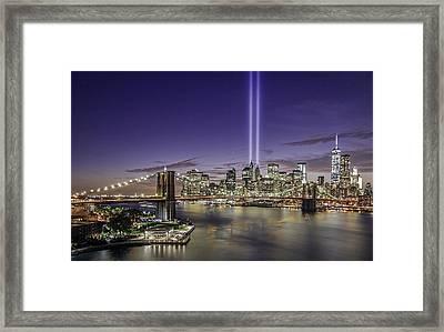 9-11-14 Framed Print by Anthony Fields