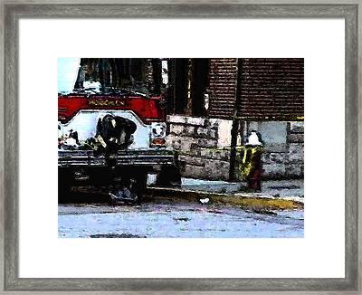 9/11 Heroes  Framed Print