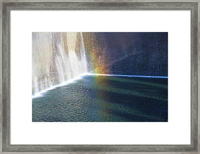 9-11 Memorial Framed Print