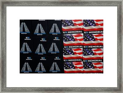 9/11 Memorial For Sale Framed Print by Rob Hans