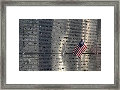 9-11 Memorial Rocky Point New York Framed Print by Bob Savage