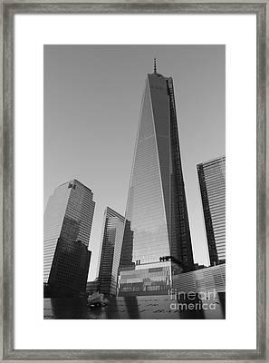 9/11 Memorial Framed Print by Shiela  Mahaney