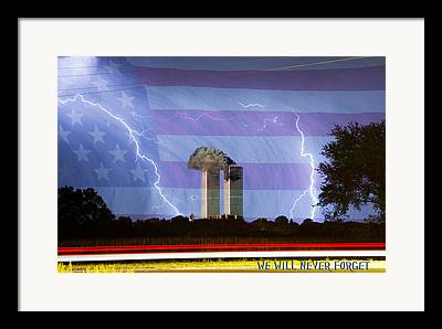 Unusual Lightning Framed Prints