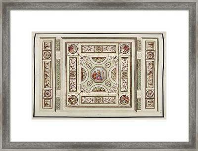 Antique Grotesque Ceilings Framed Print