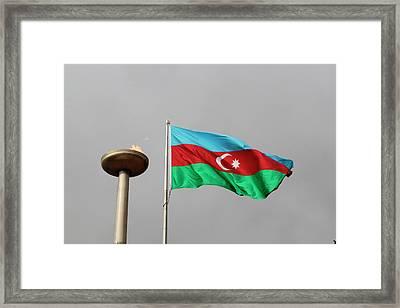 Azerbaijan, Baku Framed Print by Alida Latham