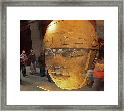 Barcelona, Spain Framed Print by Ken Welsh