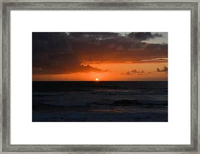 Beach Framed Print by William Watts