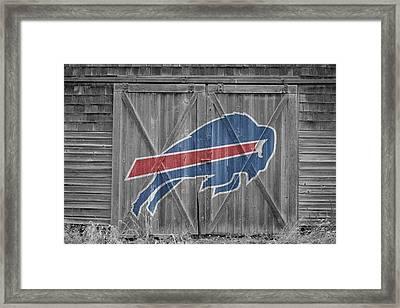 Buffalo Bills Framed Print by Joe Hamilton