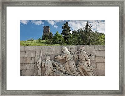 Bulgaria, Central Mountains, Shipka Framed Print by Walter Bibikow